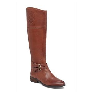 Vince Camuto Pryna Riding Leather Boots, Sz 9